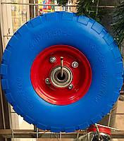 Колесо пенополиуретановое 4.10/3.50-4, диаметр 260 мм
