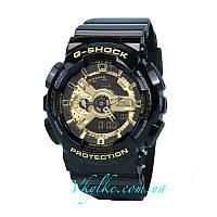 Часы Casio G-Shock GA BLACK&GOLD AAA, фото 1