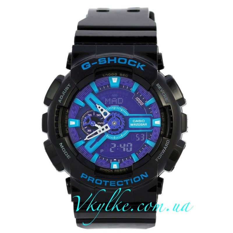 Часы Casio G-Shock GA-110 BLACK-PURPLE AAA