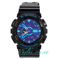 Часы Casio G-Shock GA-110 BLACK-PURPLE AAA, фото 1