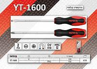 Набор отверток 2шт, YATO YT-1600