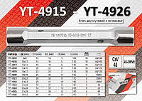 Кованный торцевой ключ 8х9мм,  YATO  YT-4915.