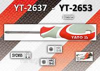 Отвертка крестовая PH0 х 300мм., YATO YT-2637