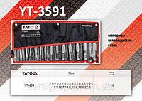 Наборы пробойников 15шт/2.0-22мм., YATO YT-3591