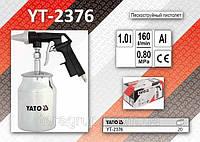 Пескоструйный пистолет с бачком, YATO YT-2376
