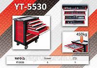 Сервисный шкаф с инструментами 177шт,  YATO  YT-5530