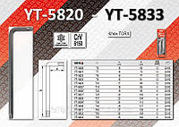 Ключ TORX длинный Т10 12шт,  YATO  YT-5824.