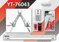 Нож складной многофункциональный,  YATO  YT-76043.