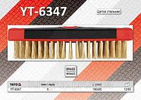 Щетка c пластиковой ручкой,  YATO  YT-6347.