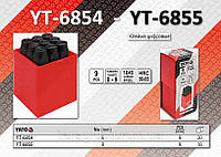 Клейма цифровые 9 шт., h-6 мм.,  YATO YT-6854