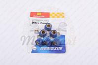 """Ролики вариатора (тюнинг) Honda 16*13 9,5г """"DONGXIN"""" (синие) (код товара R-446)"""