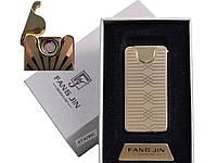 """Спиральная USB-зажигалка """"Абстракция"""" №4794С-1, прекрасный подарок деловому человеку, огонь под рукой"""