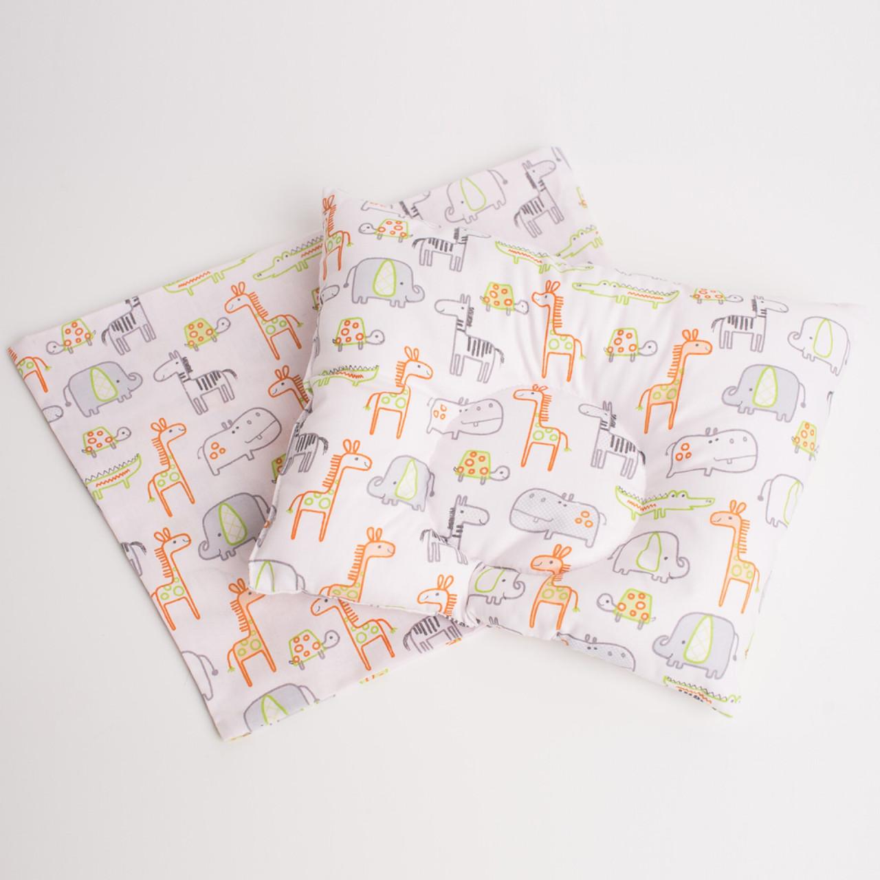 "Ортопедична подушка для немовлят ""Веселий зоопарк"""