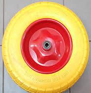 Колесо пенополиуретановое 3.50-6, диаметр 342 мм