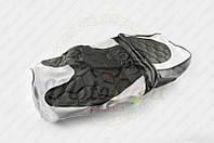 """Чехол сиденья GRAND PRIX (черно-белый, KOSO) """"SOFT SEAT"""" (код товара S-3080)"""