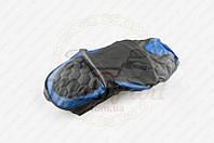 "Чехол сиденья Race (черно-синий, KOSO) ""SOFT SEAT"" (код товара S-3077)"