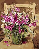 Раскраски для взрослых 40×50 см. Любимые цветы Художник Коттерил Анне