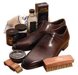 Средства по уходу за кожей, замшей и обувью