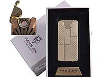 """Спиральная USB-зажигалка """"Абстракция"""" №4794С-2, модный и стильный аксессуар, работает в любую погоду"""