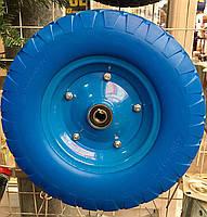 Колесо пенополиуретановое 4.00-8, диаметр 394 мм