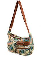 Тканевая женская сумка