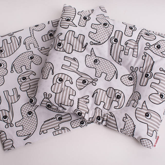 "Ортопедична подушка для немовлят ""Зоопарк"""