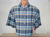 Мужская рубашка в клетку с коротким рукавом Merona