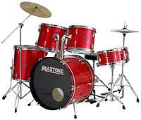 Барабанная установка MAXTONE MXC110 red