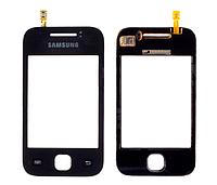 Тачскрин /сенсор (сенсорное стекло) для Samsung Galaxy Y S5360 (черный цвет)