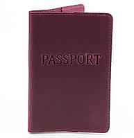Обложка для паспорта DNK Leather Женская кожаная обложка для паспорта DNK LEATHER (ДНК ЛЕЗЕР) DNK-Pasport-Hcol.L