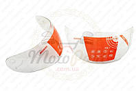 """Стекло (визор) шлема-интеграла """"TKD"""" (код товара V-1057)"""