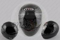 """Шлем-интеграл """"TVD"""" (mod:CFP05) (size:XL, черный, воротник) (код товара I-248)"""