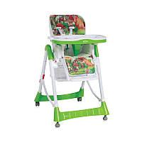 """Детский стульчик для кормления """"JUNGLE"""" PRIMO GREEN MUSHROOMS"""