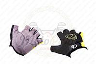 """Перчатки без пальцев """"IP"""" (mod:1, size:L, черно-желтые) (код товара P-2678)"""
