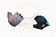 "Перчатки без пальцев ""IP"" (mod:1, size:L, черно-синие) (код товара P-2680)"