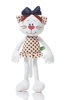 Котик Б'янка м'яка іграшка 50 см Левеня