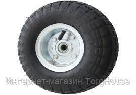 Колесо пневматическое 3.50-4, диаметр 263 мм