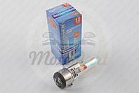 """Лампа BA20D (2 уса) 12V 18W/18W (хамелеон розовый) """"BEST"""" (mod:A) (код товара B-77)"""