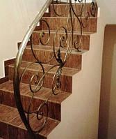 Кованая лестница, фото 1
