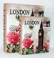 """Книга-шкатулка """"Лондон"""" на магните набор 2в1 327-1F"""
