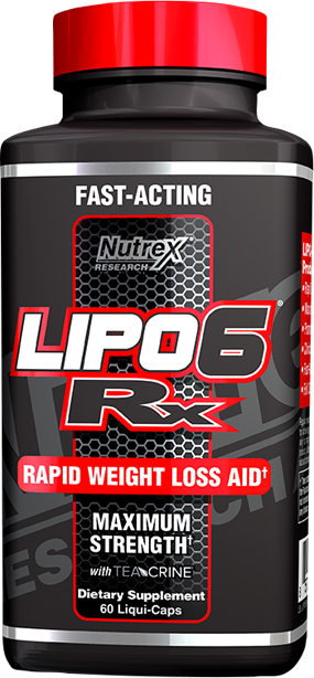 Nutrex Lipo-6 RX 60 caps