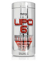 Nutrex Lipo-6 Unlimited 120 liqui-caps