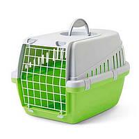 Переноска для собак Savic ТРОТТЭР3 (Trotter3), лимонный цвет пластик,  | 60,5Х40,5Х39 см.