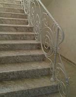 Кованые ограждения лестницы, фото 1