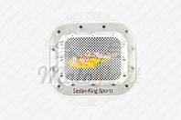 """Наклейка на крышку бака """"SEDAN-KING SPORTS"""" (13х13см, желтая) (#1625) (код товара N-1891)"""
