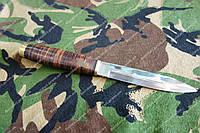 Нож Финка для охотника  и рыбака,Сталь 440с ,чехол
