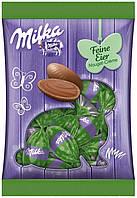 Шоколадные яички Milka «Feine Eier Nougat Crème» (С ореховым пралине), 90 г., фото 1