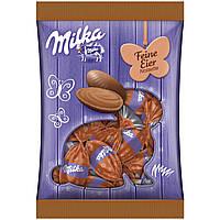 Шоколадные яички Milka «Feine Eier Noisette» (с пралине из темного шоколада), 90 г.