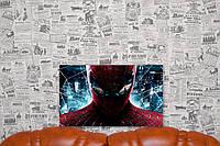 "Принт на холсте ""Человек Паук.Spider-Man"" 50х30 см."
