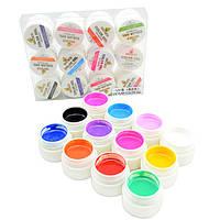 Набор гель лаков CANNI гель краски 12 цветов